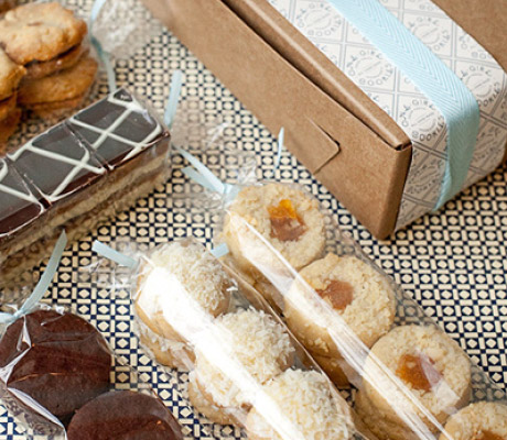 Tea Cookie Gift Boxes
